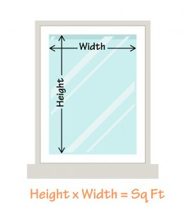 How to measure a window